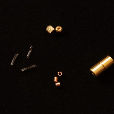 """End Kit"" clasp components - gold color"