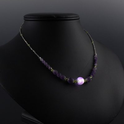 Petite Amethyst Necklace Kit