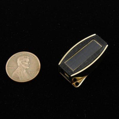 Brass Solar Power Clasp