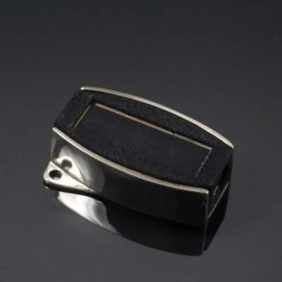 White Bronze Solar Power Clasp