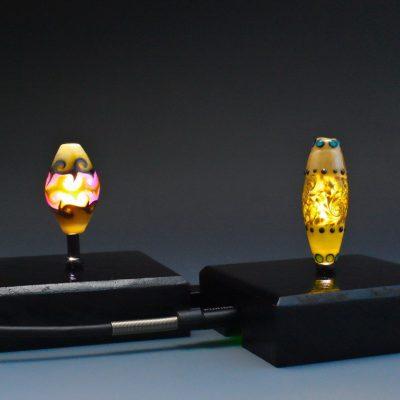 Illuminated Bead Display